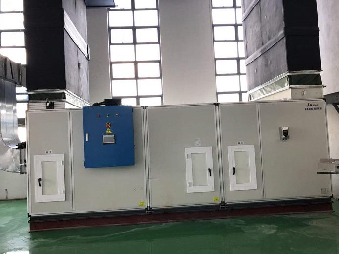 净化空调机组安装